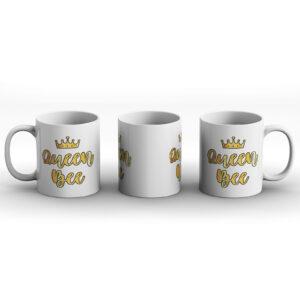 Queen Bee – Printed Mug
