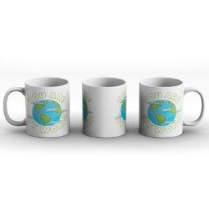 You Are My World – Printed Mug