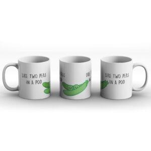 Like Two Peas In A Pod – Printed Mug