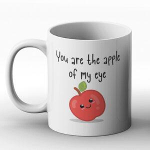 You Are The Apple Of My Eye – Printed Mug