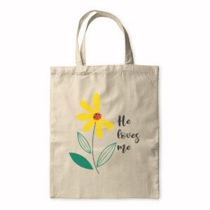 He Loves Me – Tote Bag