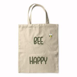 Bee Happy – Tote Bag