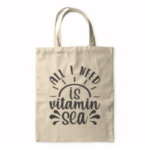 All I Need Is Vitamin Sea – Tote Bag