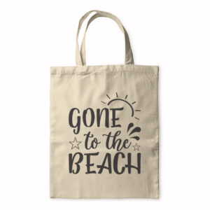 Gone To The Beach – Tote Bag