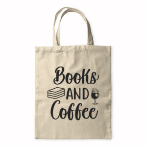 Books And Coffee – Tote Bag