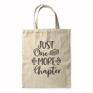 Just One More Chapter (2) – Tote Bag
