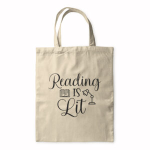 Reading Is Lit – Tote Bag