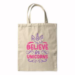 Believe In Unicorns – Tote Bag
