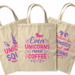 Believe In Unicorns! – Tote Bag
