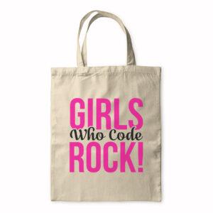 Girls Who Code Rock! – Tote Bag