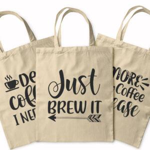 Coffee Shopping – Tote Bag