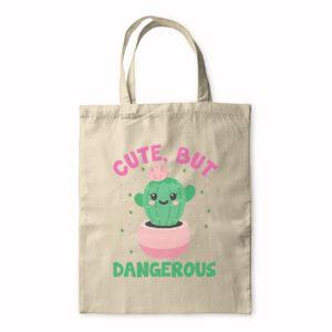 Cute But Dangerous – Tote Bag