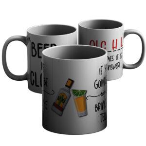 Happy And Hoppy – Printed Mug
