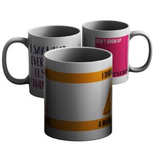 Tantrums And Teenagers – Printed Mug