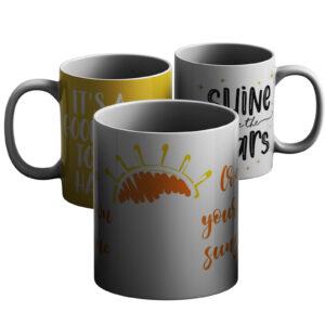 Motivation and Meaningful – Printed Mug