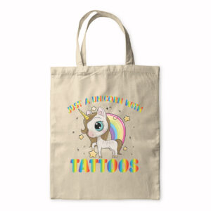 Just A Unicorn With Tattoos – Tote Bag