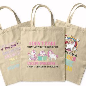 Unicorns Unite! – Tote Bag