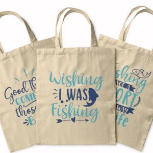 Fishing And Fun – Tote Bag