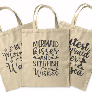 I'd Rather Be A Mermaid – Tote Bag
