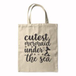 Cutest Mermaid Under The Sea – Tote Bag