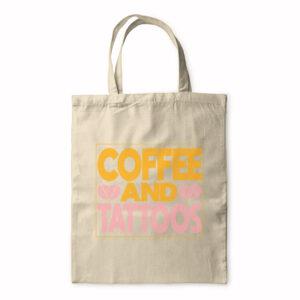 Coffee And Tattoos – Tote Bag
