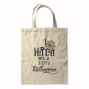 I Witch You A Happy Halloween – Tote Bag