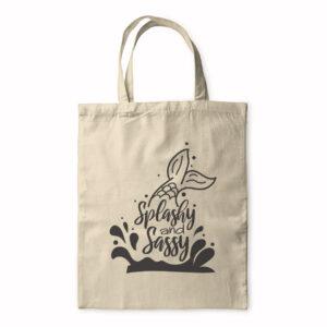 Splashy And Sassy – Tote Bag