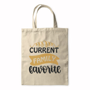 Current Family Favourite – Tote Bag