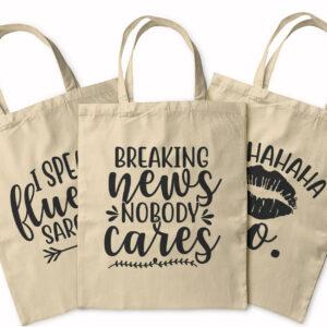 Fresh Sarcasm Served Daily – Tote Bag