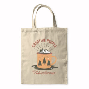 Creative People Are Adventurous – Tote Bag