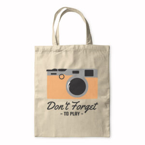 Don't Forget To Play – Tote Bag
