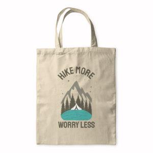 Hike More Worry Less – Tote Bag