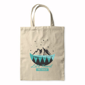 Let's Travel The World – Tote Bag