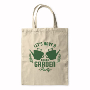 Let's Have A Garden Party – Tote Bag