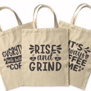 I Love Coffee – Caffeine Selection – Tote Bag
