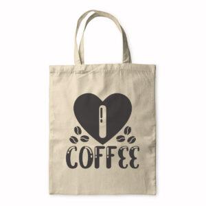I Love Coffee – Tote Bag