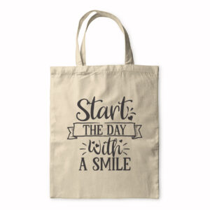 Start The Day With A Smile – Tote Bag