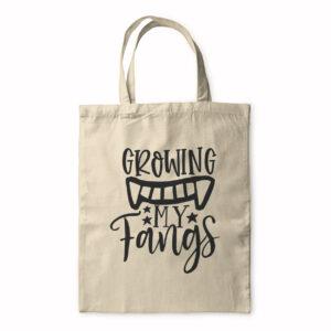 Growing My Fangs – Tote Bag