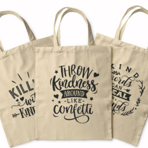 Kind Vibes Only – Tote Bag