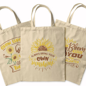 Be A Sunflower – Tote Bag