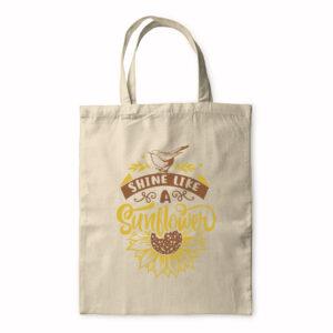 Shine Like A Sunflower – Tote Bag
