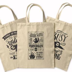 Advice From A Sloth – Tote Bag
