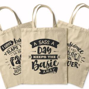Be Savage Not Average – Tote Bag