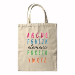 Abcefghijk Lmno Pqrstvwxyz – Funny Alphabet Song – Tote Bag