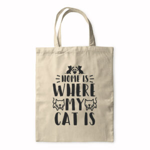 Home Is Where My Cat Is – Tote Bag