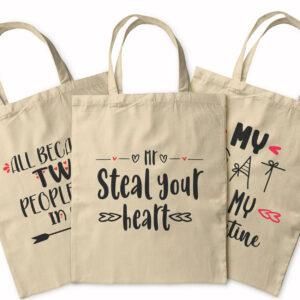 Be My Valentine – Tote Bag