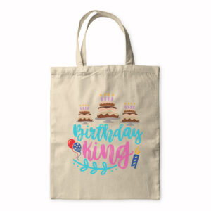 Birthday King – Tote Bag