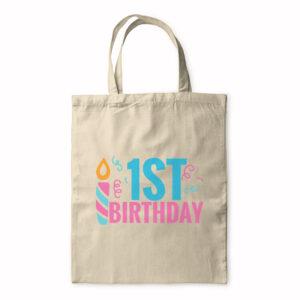 1St Birthday – Tote Bag