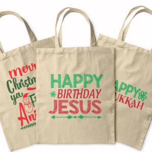 Happy Christmas – Tote Bag