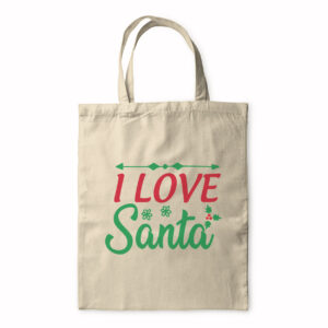 I Love Santa – Tote Bag